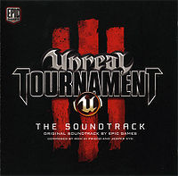 Обложка альбома «Unreal Tournament III: The Soundtrack» (Ром Ди Приско (англ. Rom di Prisco) и Йеспер Кид (дат. Jesper Kyd),{{{Год}}})